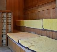 檜木の湯サウナ