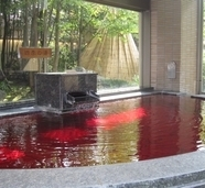 甲州ワイン風呂(檜木の湯)