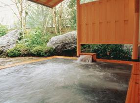露天風呂(水晶の湯)